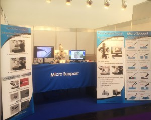 analytica2018 Microsupport booth